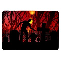 Horror Zombie Ghosts Creepy Samsung Galaxy Tab 8.9  P7300 Flip Case