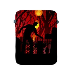 Horror Zombie Ghosts Creepy Apple Ipad 2/3/4 Protective Soft Cases