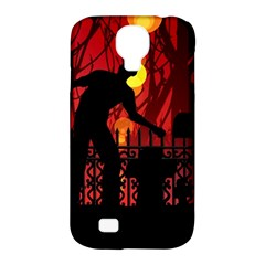 Horror Zombie Ghosts Creepy Samsung Galaxy S4 Classic Hardshell Case (pc+silicone)