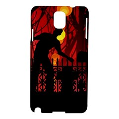 Horror Zombie Ghosts Creepy Samsung Galaxy Note 3 N9005 Hardshell Case