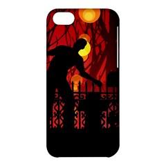 Horror Zombie Ghosts Creepy Apple Iphone 5c Hardshell Case