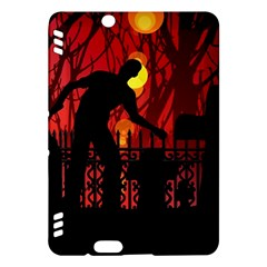 Horror Zombie Ghosts Creepy Kindle Fire Hdx Hardshell Case