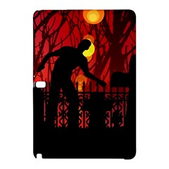 Horror Zombie Ghosts Creepy Samsung Galaxy Tab Pro 10 1 Hardshell Case