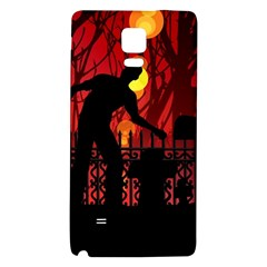Horror Zombie Ghosts Creepy Galaxy Note 4 Back Case