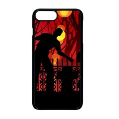 Horror Zombie Ghosts Creepy Apple Iphone 7 Plus Seamless Case (black)