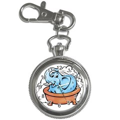 Elephant Bad Shower Key Chain Watches