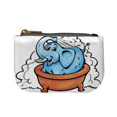 Elephant Bad Shower Mini Coin Purses