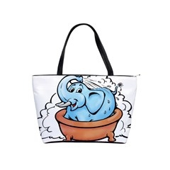 Elephant Bad Shower Shoulder Handbags