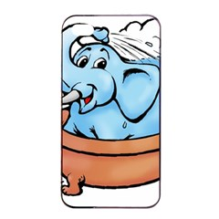 Elephant Bad Shower Apple iPhone 4/4s Seamless Case (Black)