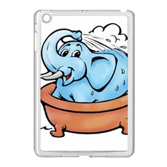 Elephant Bad Shower Apple Ipad Mini Case (white)