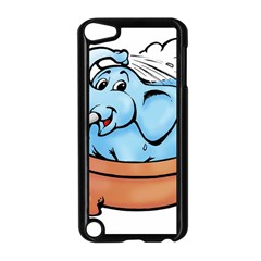 Elephant Bad Shower Apple Ipod Touch 5 Case (black)