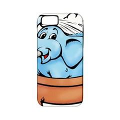 Elephant Bad Shower Apple Iphone 5 Classic Hardshell Case (pc+silicone)