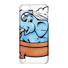 Elephant Bad Shower Apple Ipod Touch 5 Hardshell Case With Stand