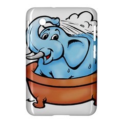 Elephant Bad Shower Samsung Galaxy Tab 2 (7 ) P3100 Hardshell Case