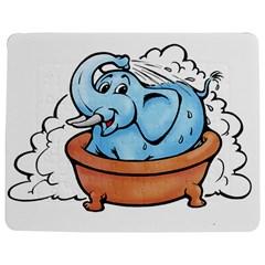 Elephant Bad Shower Jigsaw Puzzle Photo Stand (rectangular)