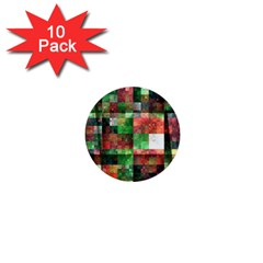 Paper Background Color Graphics 1  Mini Buttons (10 Pack)