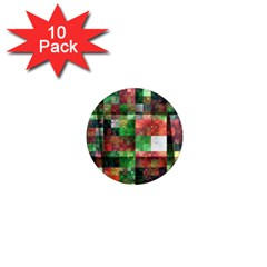 Paper Background Color Graphics 1  Mini Magnet (10 Pack)