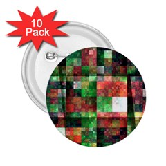 Paper Background Color Graphics 2 25  Buttons (10 Pack)