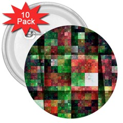 Paper Background Color Graphics 3  Buttons (10 Pack)