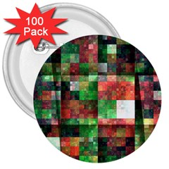 Paper Background Color Graphics 3  Buttons (100 Pack)