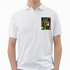 Paper Background Color Graphics Golf Shirts
