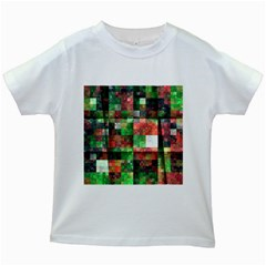 Paper Background Color Graphics Kids White T Shirts