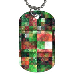 Paper Background Color Graphics Dog Tag (two Sides)