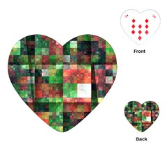 Paper Background Color Graphics Playing Cards (heart)