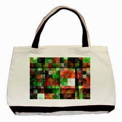 Paper Background Color Graphics Basic Tote Bag (two Sides)