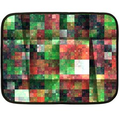 Paper Background Color Graphics Double Sided Fleece Blanket (mini)