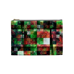 Paper Background Color Graphics Cosmetic Bag (medium)