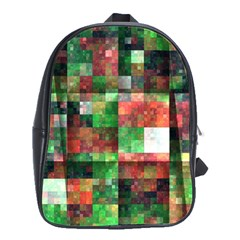 Paper Background Color Graphics School Bags(large)