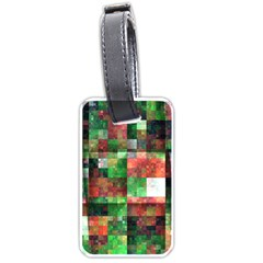 Paper Background Color Graphics Luggage Tags (one Side)