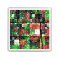 Paper Background Color Graphics Memory Card Reader (square)