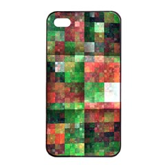 Paper Background Color Graphics Apple Iphone 4/4s Seamless Case (black)