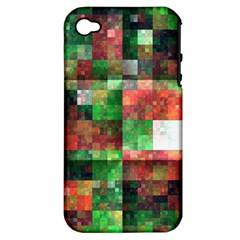 Paper Background Color Graphics Apple Iphone 4/4s Hardshell Case (pc+silicone)