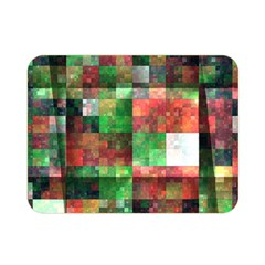 Paper Background Color Graphics Double Sided Flano Blanket (mini)