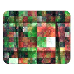 Paper Background Color Graphics Double Sided Flano Blanket (large)