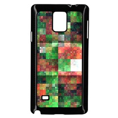 Paper Background Color Graphics Samsung Galaxy Note 4 Case (Black)