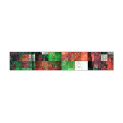 Paper Background Color Graphics Flano Scarf (mini)