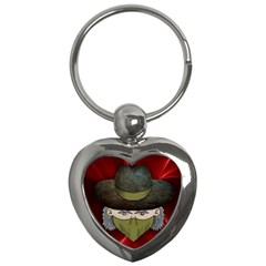 Illustration Drawing Vector Color Key Chains (heart)