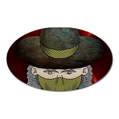 Illustration Drawing Vector Color Oval Magnet