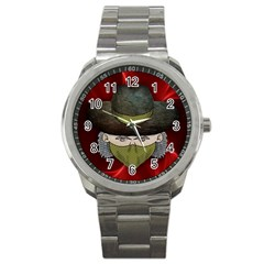 Illustration Drawing Vector Color Sport Metal Watch