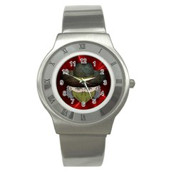 Illustration Drawing Vector Color Stainless Steel Watch
