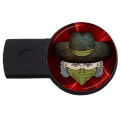 Illustration Drawing Vector Color Usb Flash Drive Round (4 Gb)