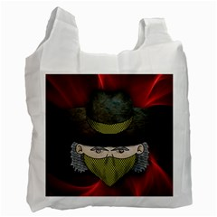 Illustration Drawing Vector Color Recycle Bag (two Side)