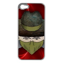 Illustration Drawing Vector Color Apple Iphone 5 Case (silver)