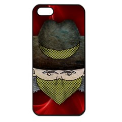 Illustration Drawing Vector Color Apple Iphone 5 Seamless Case (black)