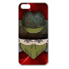 Illustration Drawing Vector Color Apple Seamless Iphone 5 Case (clear)