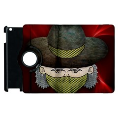 Illustration Drawing Vector Color Apple Ipad 3/4 Flip 360 Case